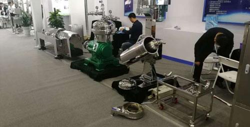 2019辽宁富一离心机在长沙全国制药机械博览会展示结束