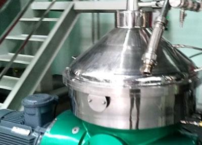 碟式离心机-人参提取液实验