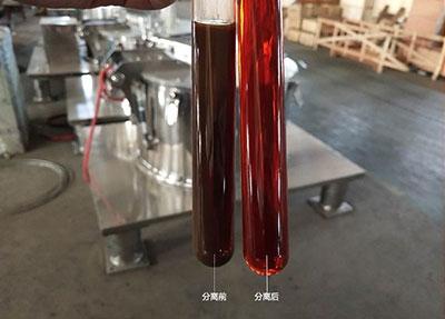 平板中药提取液分离机实验视频